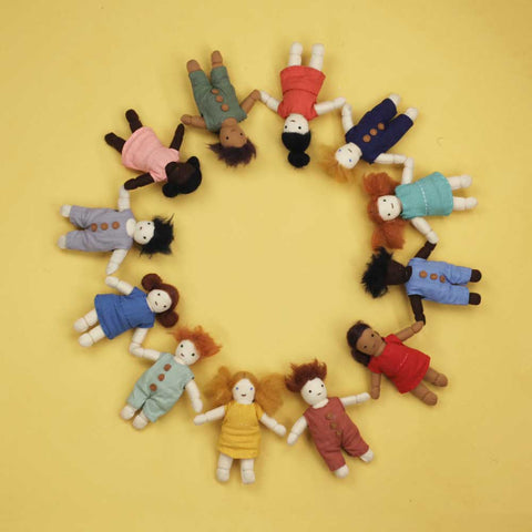 Holdie folk by Olli Ella for holdie house little people