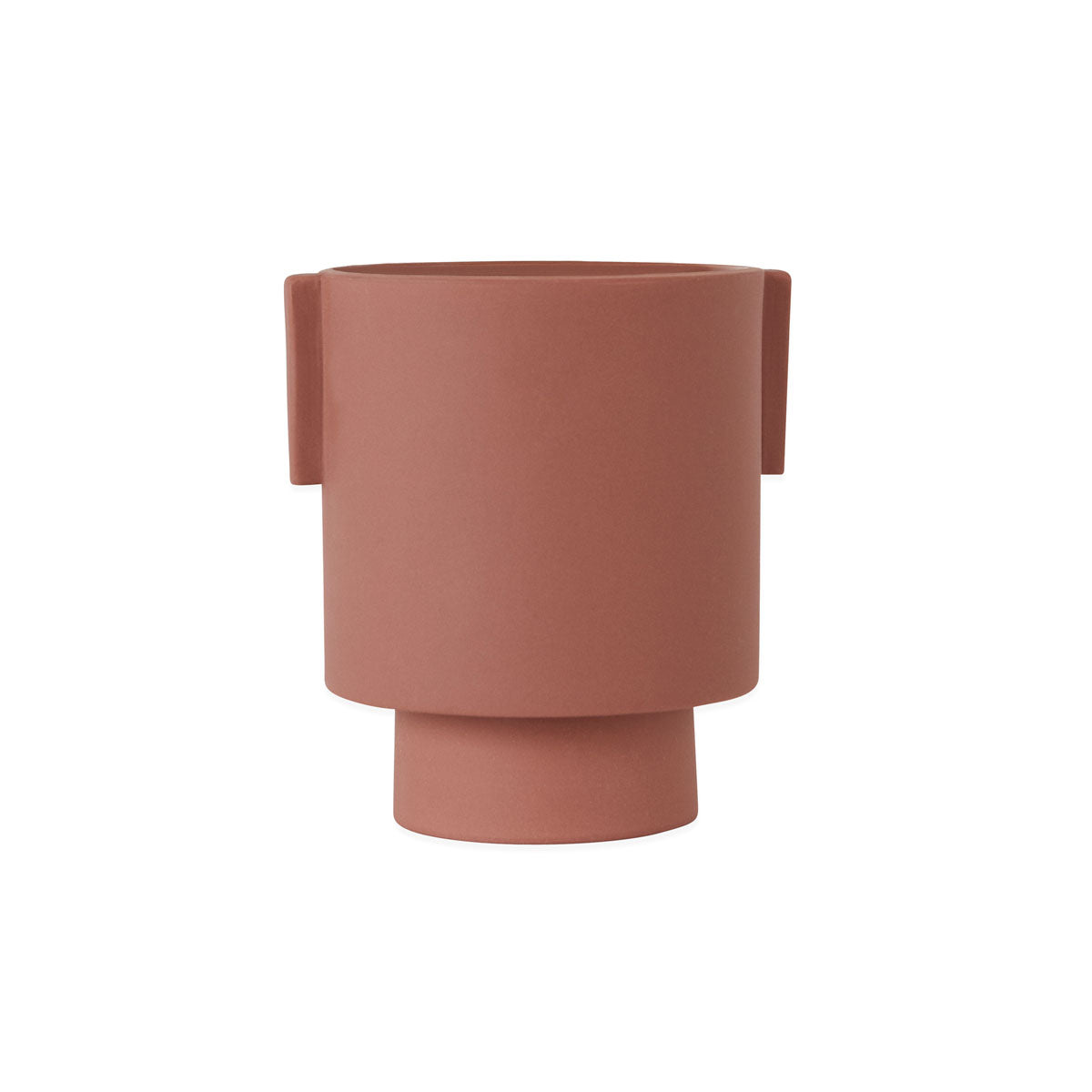 Inka Kana Pot - medium Sienna ceramic OYOY living design
