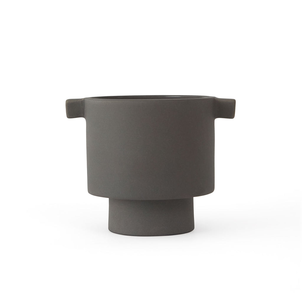 Inka Kana Pot - Small - Grey OYOY living design