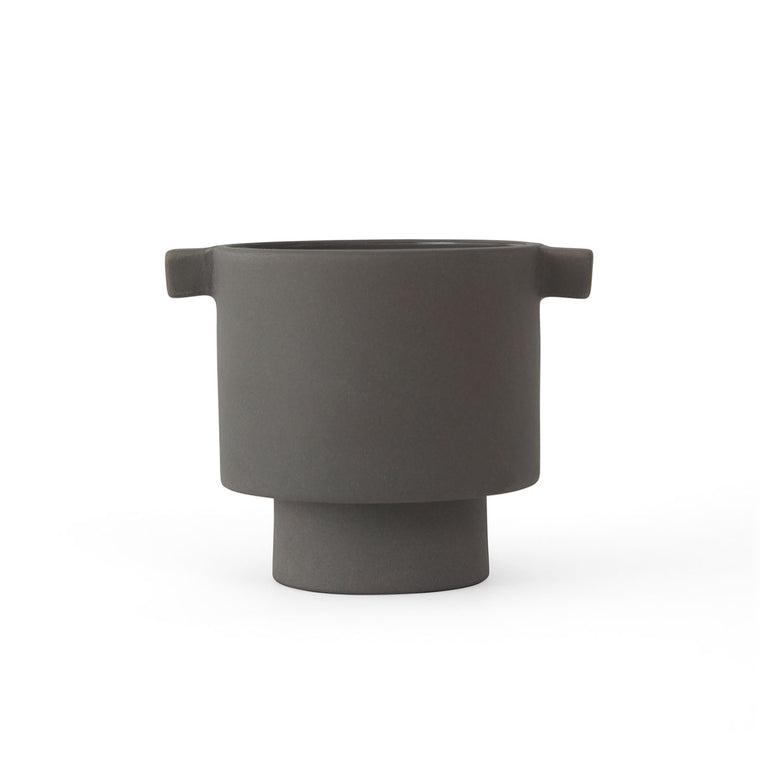 Inka Kana Pot - Small - Grey