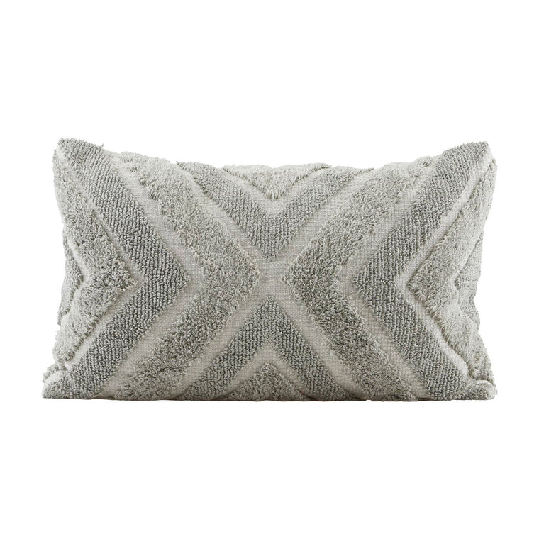 Pillowcase, India, Grey