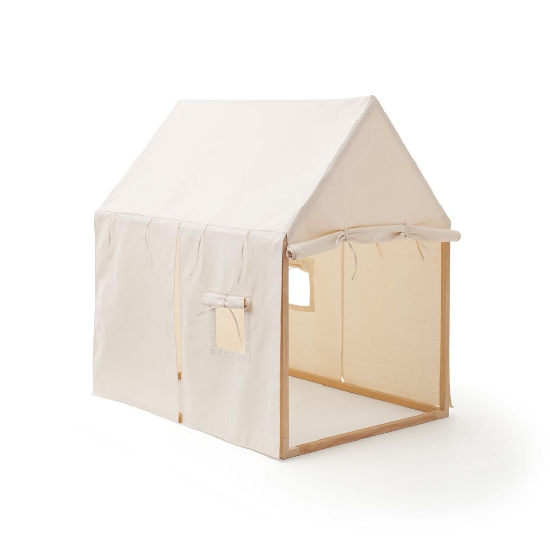 Kids Concept Play house tent off whiteKids Concept Play house tent off white