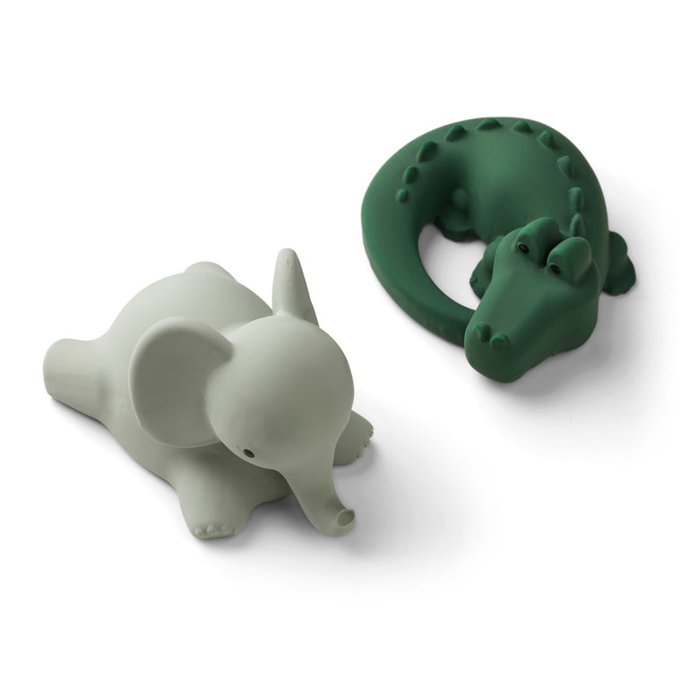 Vikky Bath Toys 2 Pack - Safari Green Mix