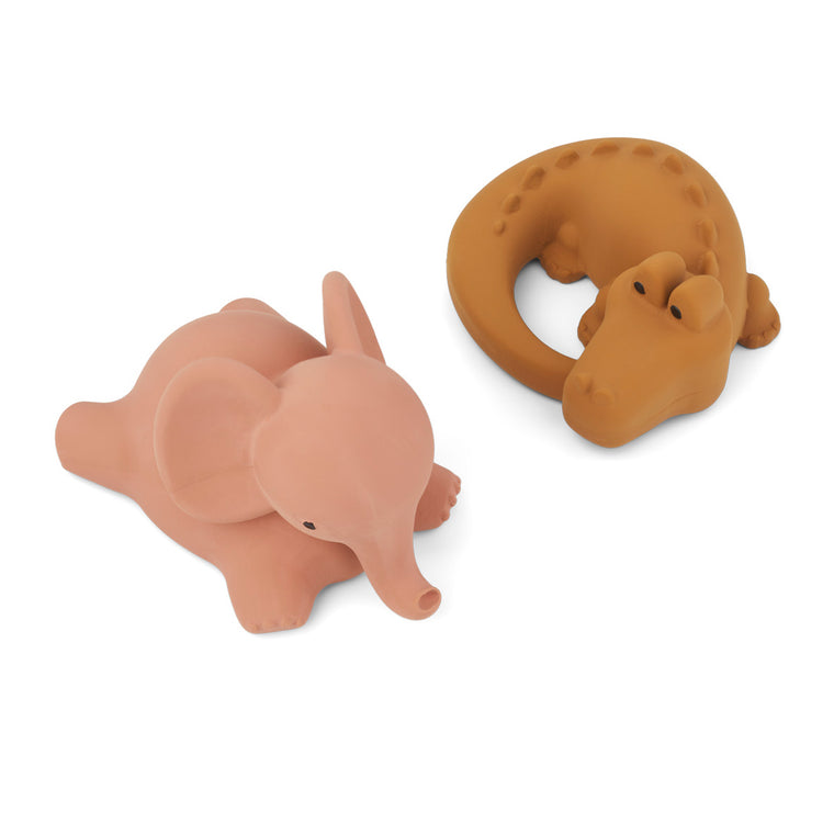 Vikky Bath Toys 2 Pack - Safari Dark Rose