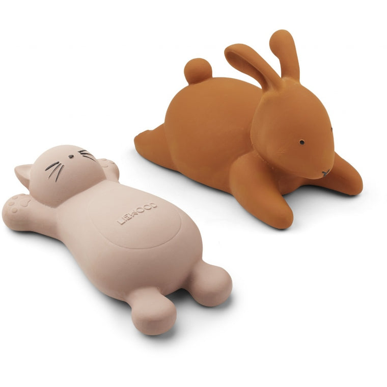 Liewood Bath Toys Dinosaur mix or Rabbit and Cat
