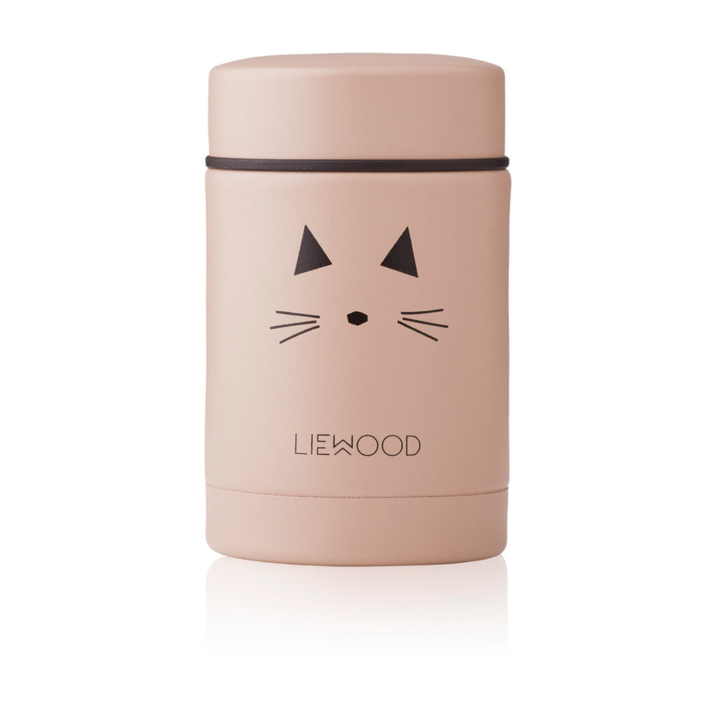 Liewood Nadja Food Jar -Cat tuscany rose