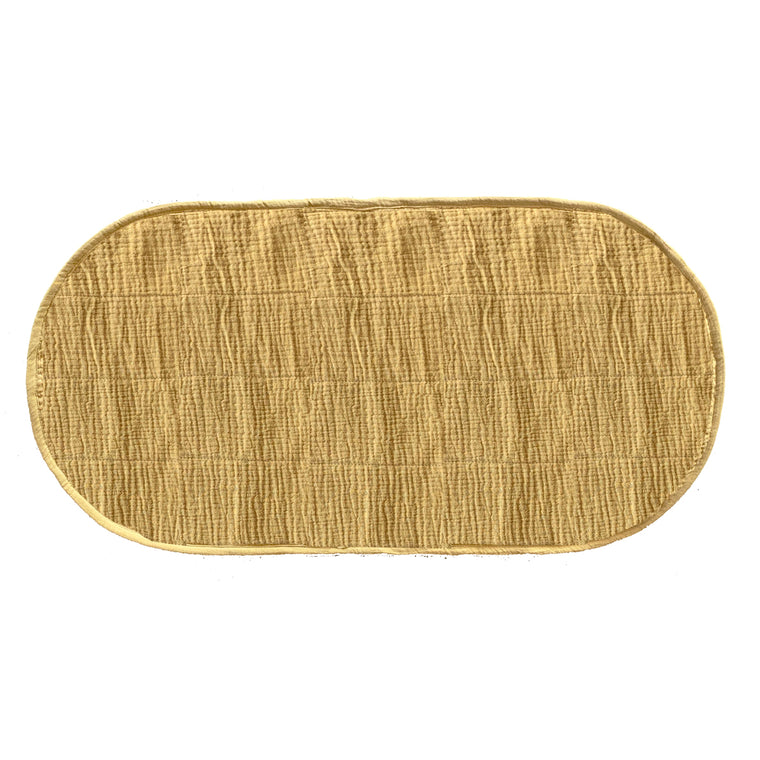 Luxe Organic cotton liner Mustard