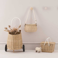 Olli Ella collection of wicker baskets for children