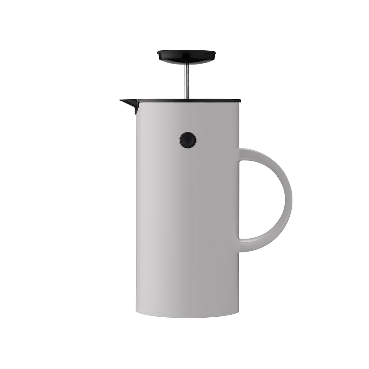EM Press coffee maker 1L Light Grey Flask