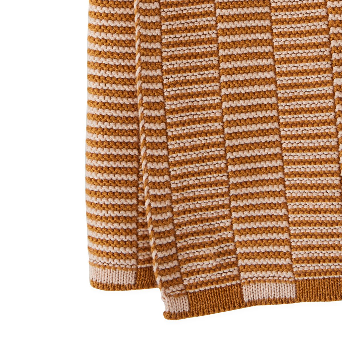 Stringa Mini Towel Caramel Rose knitted hand towel OYOY living design