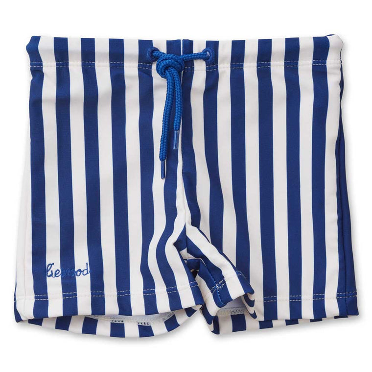 Otto swim pants navy stripe