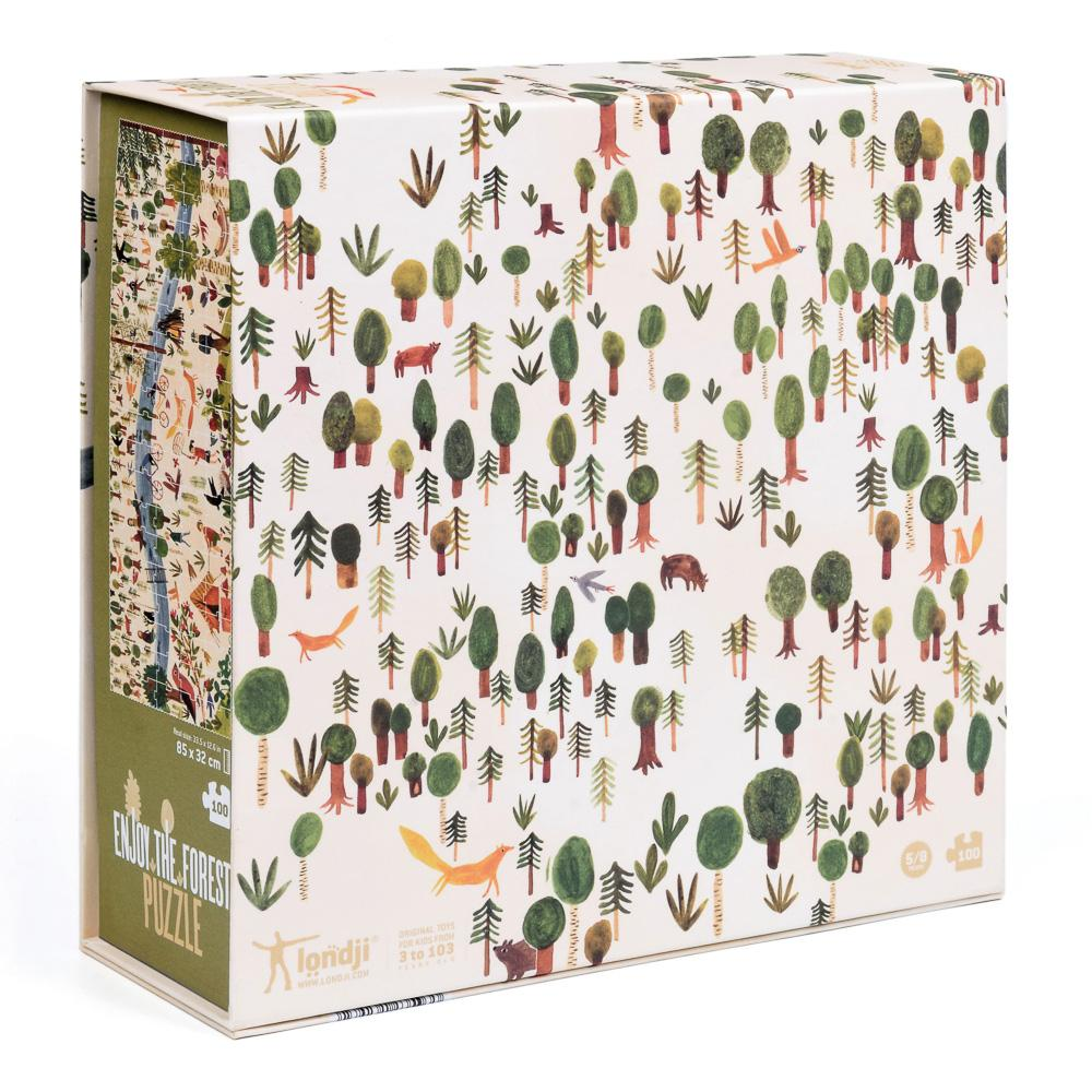 enjoy the forest londji jigsaw box