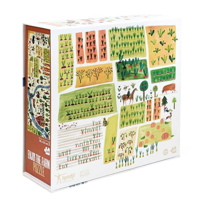 enjoy the farm londji jigsaw box