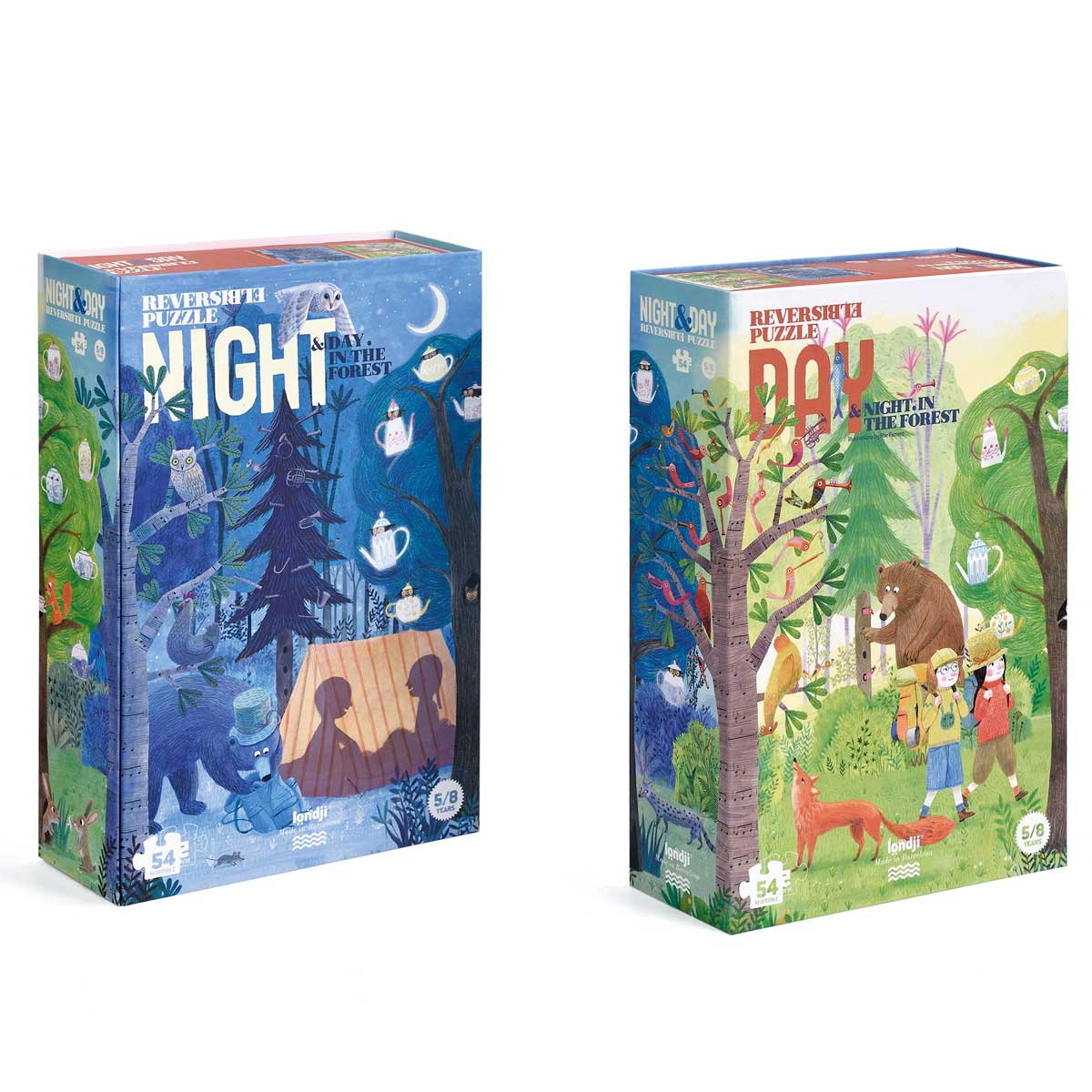 Londji Night and Day Reversible puzzle