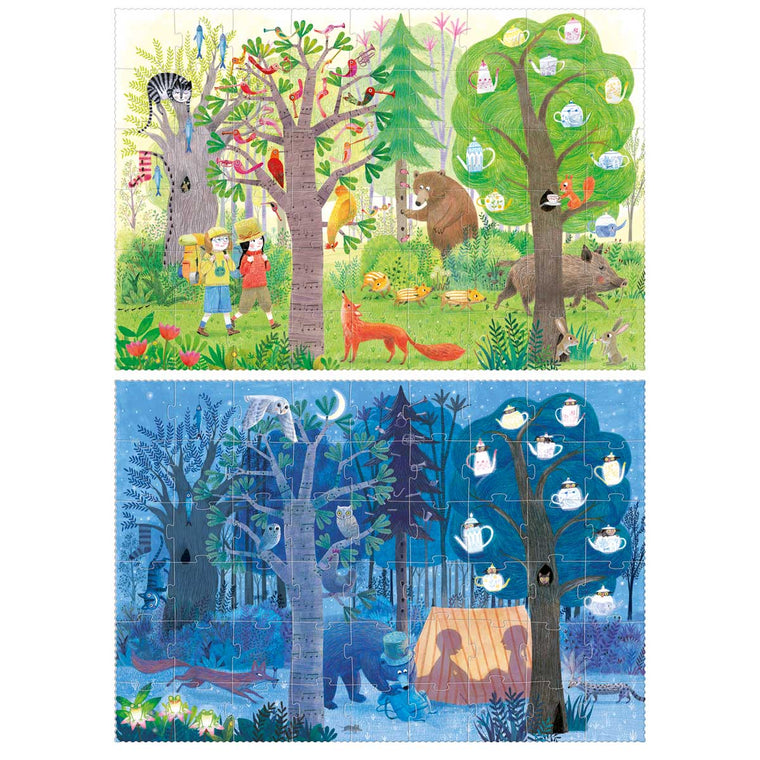 Night and Day Reversible puzzle