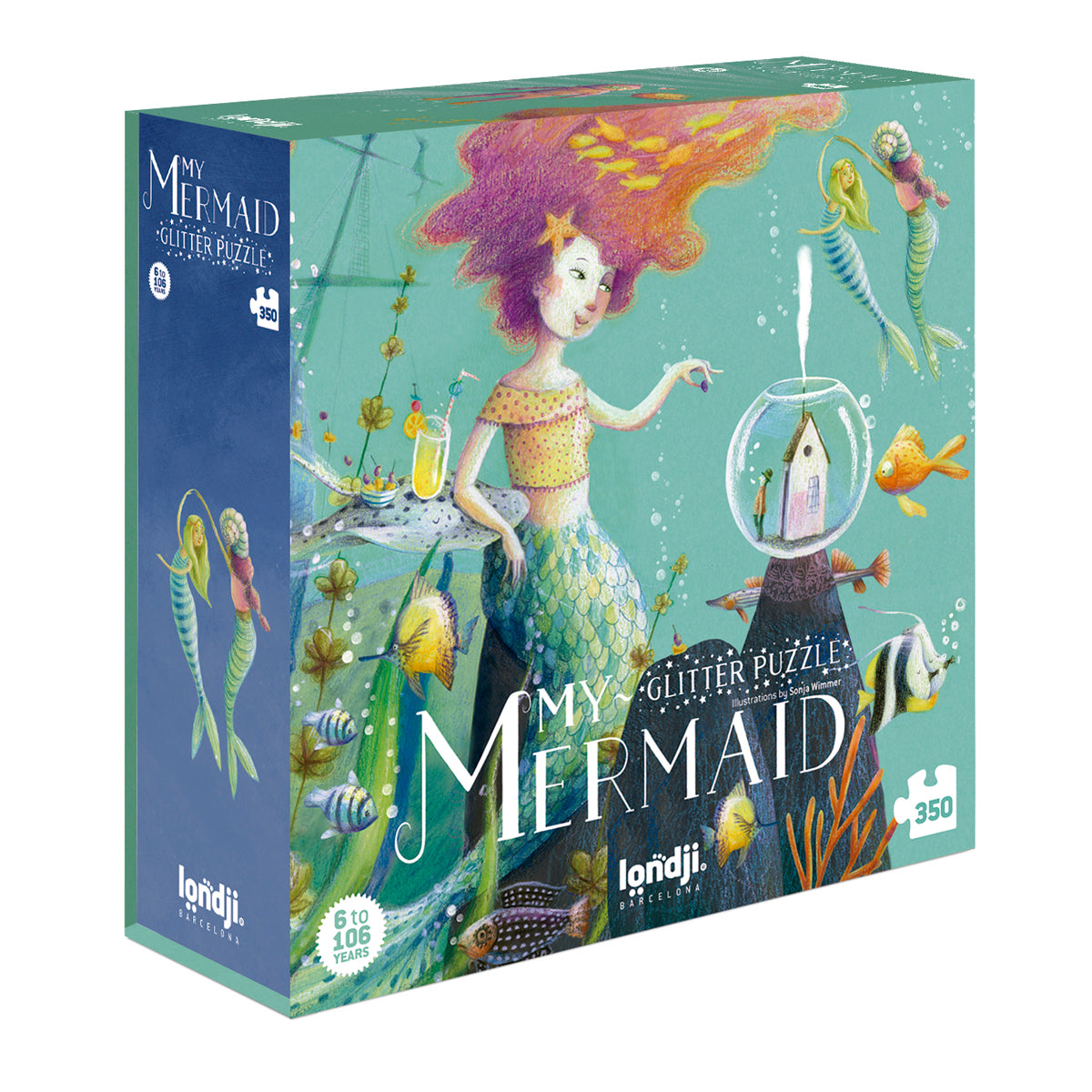 My Mermaid Puzzle Londji jigsaw