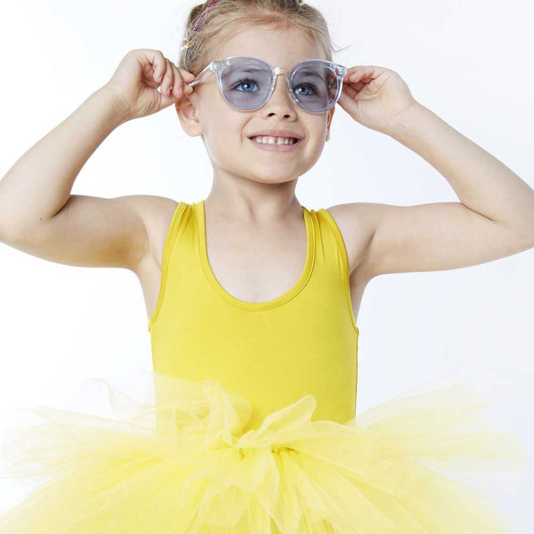 yellow tutu I love plum nyc