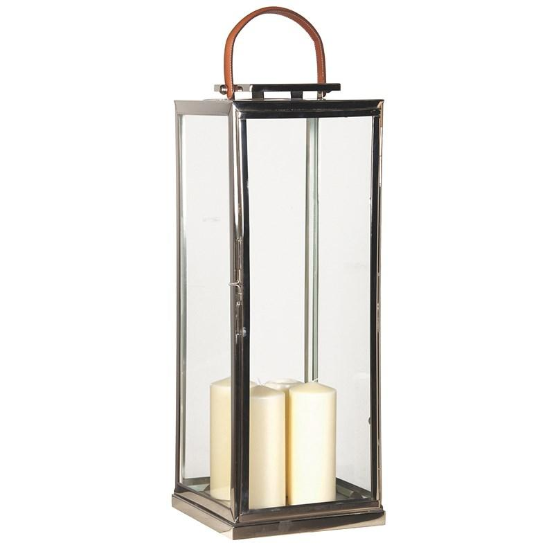 Large Nickel Lantern