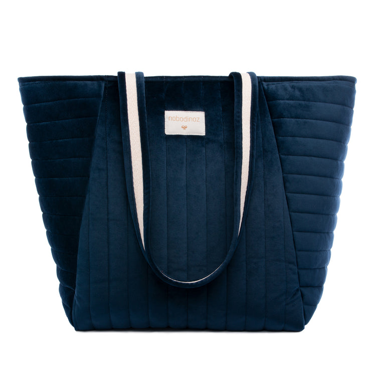 Savanna maternity bag • velvet night blue