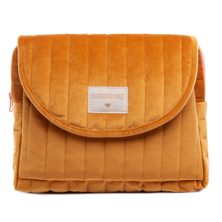 Savanna maternity case • velvet farniente yellow
