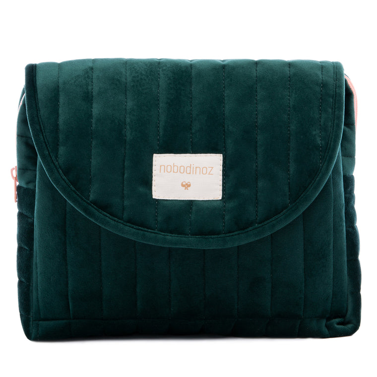 Savanna maternity case • velvet jungle green