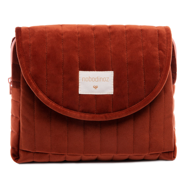 Savanna maternity case • velvet wild brown