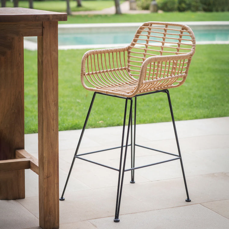 Garden Trading Hampstead bar stool with arms