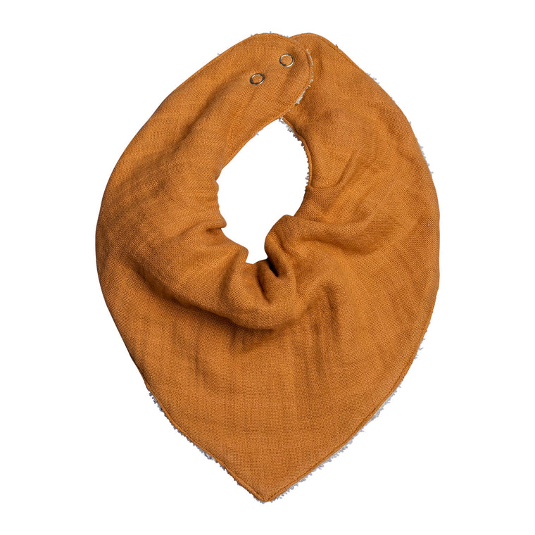 Bandana Bib - Single - Ochre