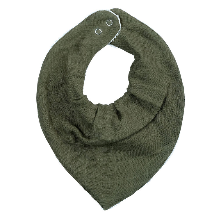 Bandana Bib - Single - Olive