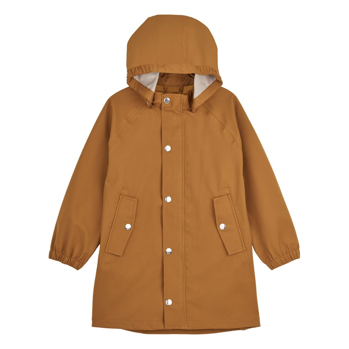 Spencer Long Raincoat - Junior - Mustard