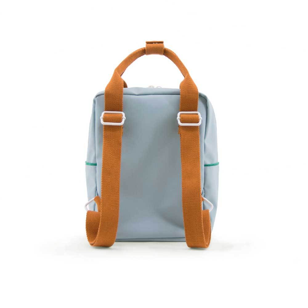 Backpack Corduroy Steel Blue recycled bottles