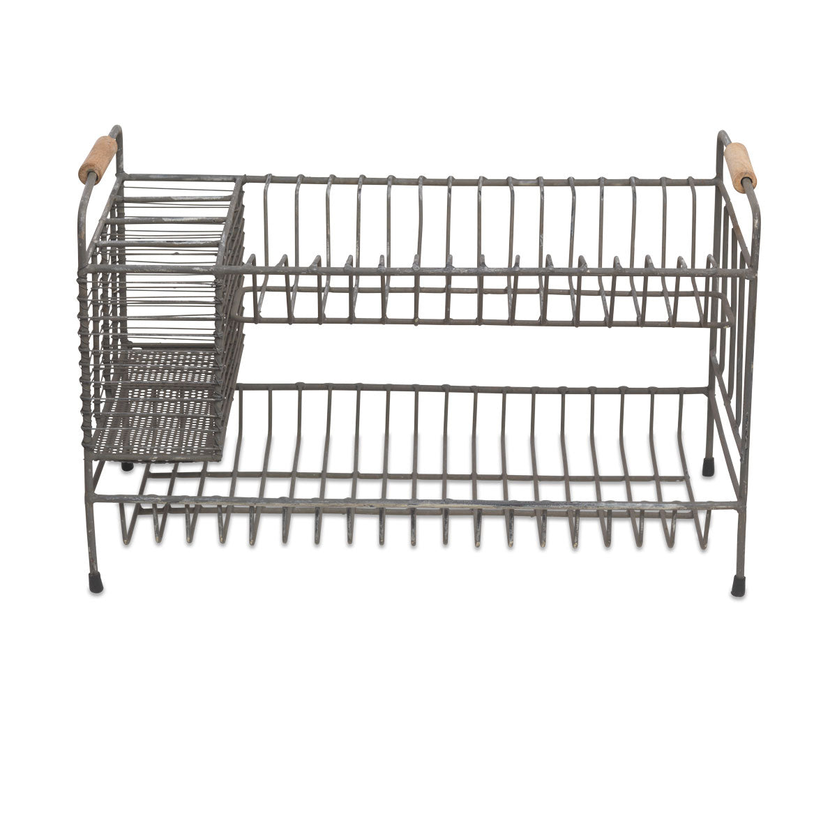 Nkuku Tilmo Dish Rack Industrial double tier