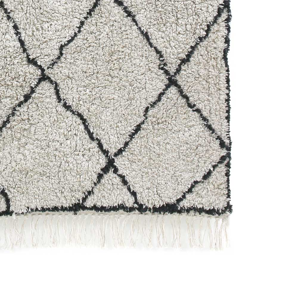 cotton diamond rug (120x180)