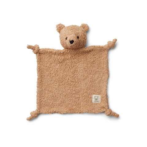 Liewood Lotte Cuddle Cloth - Bear beige comforter