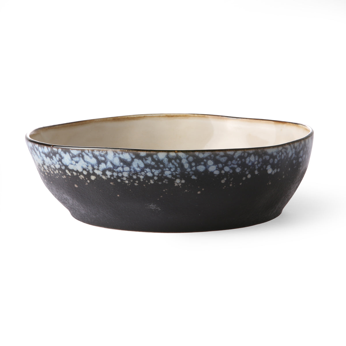 HK Living Ceramic 70s Pasta bowl: galaxy