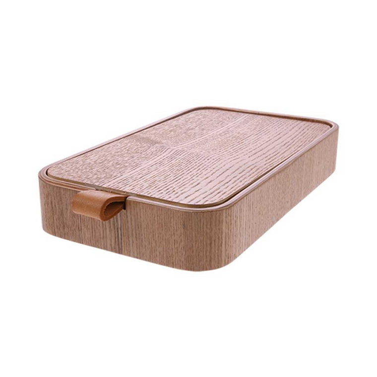 willow wooden mirror box