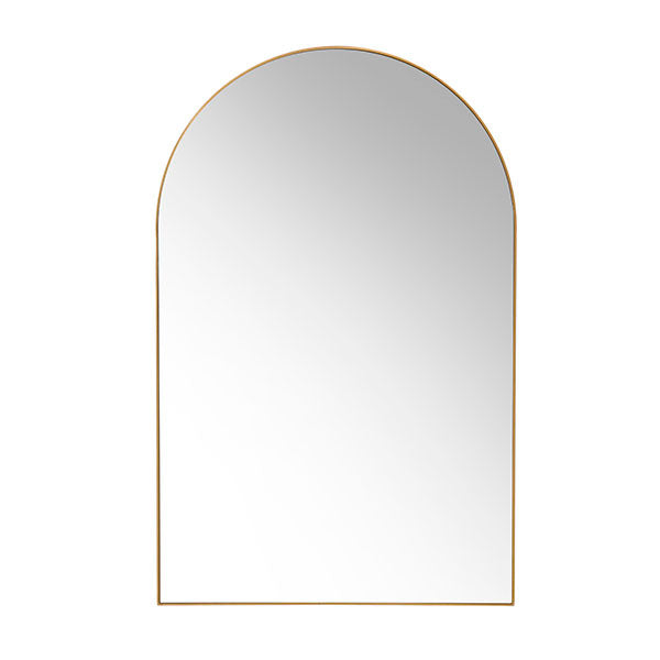 HK Living arch wall mirror brass