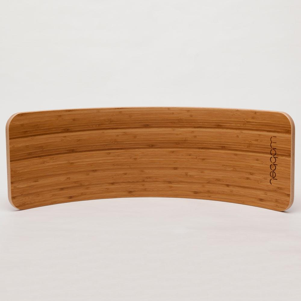 wobbel board bamboo wood