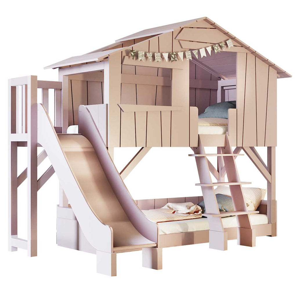 Picture of: Bunk Bed Tree House Washable Mice From Maileg And Organic Cotton From Liewood