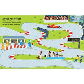 usbourne first sticker book cars