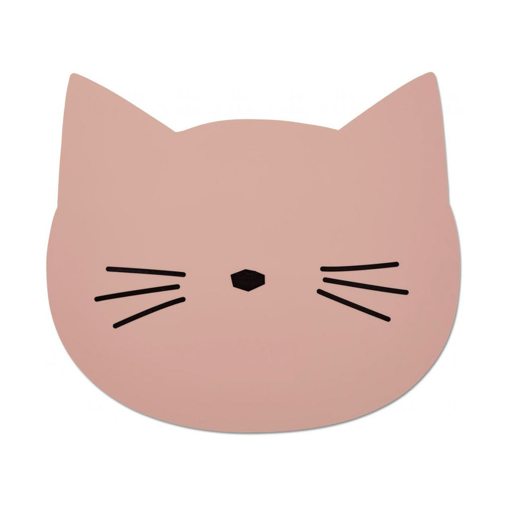 Aura Placemat Cat Rose silicone