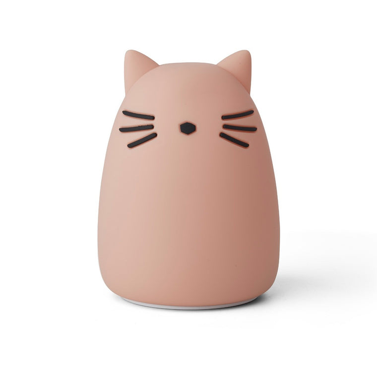 Winston Night Light cat rose