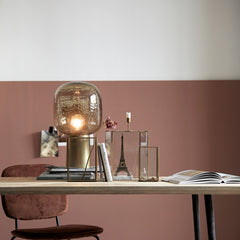Table lamp Note Grey/Brass Scandi interiors from house doctor