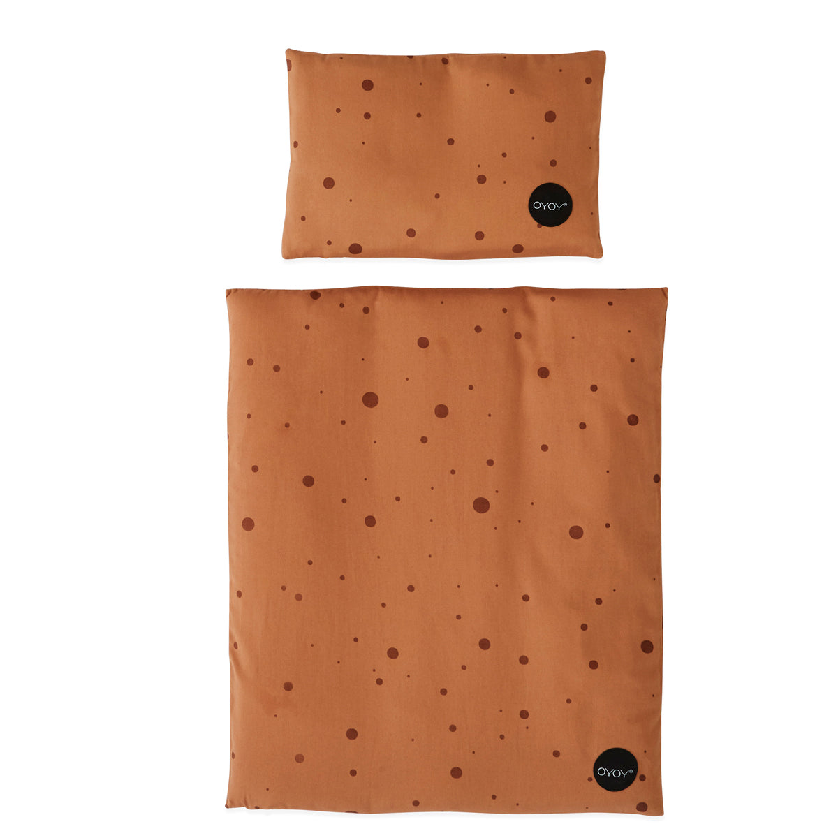 oyoy living design caramel dot doll bedding