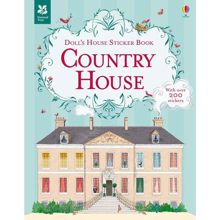 Dolls house sticker book :Country House