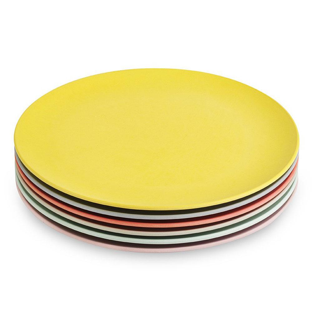 engel bamboo plates medium pastel colourful