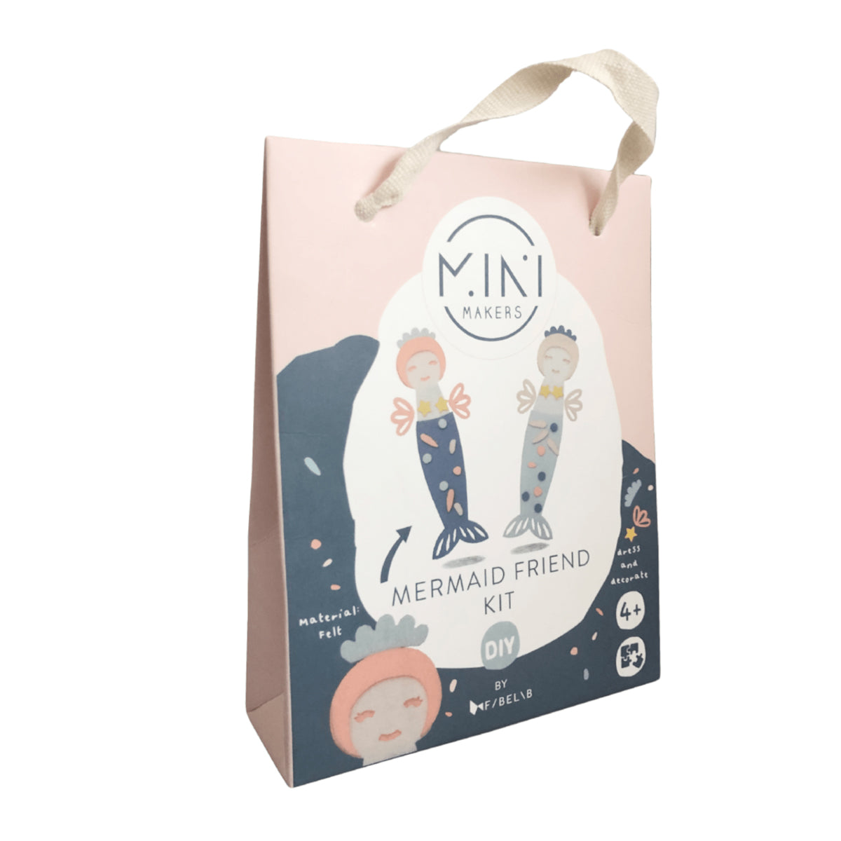 Fabelab Mermaid friend craft kit