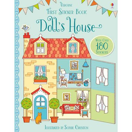 First sticker book Dolls House