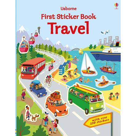 usbourne first sticker book travel