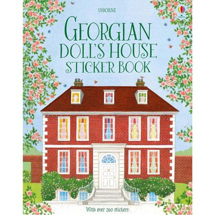 usbourne georgian dolls house sticker book